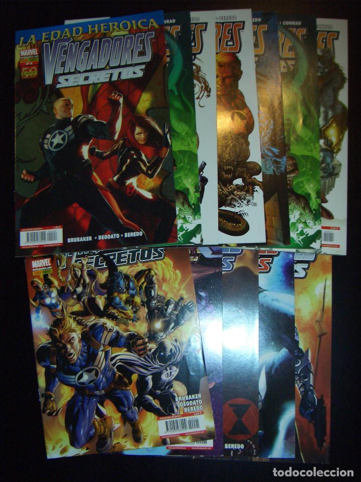 VENGADORES SECRETOS - ETAPA ED BRUBAKER COMPLETA - PANINI - MIKE DEODATO (Tebeos y Comics - Panini - Marvel Comic)