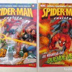 Cómics: REVISTA SPIDERMAN , Nº6 Y Nº9 - PANINI 2011. Lote 100174071
