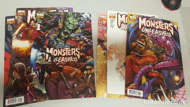 MONSTERS UNLEASHED ¡ COMPLETA 6 NUMEROS ! MARVEL - PANINI (Tebeos y Comics - Panini - Marvel Comic)