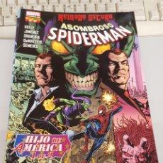 Comics : ASOMBROSO SPIDERMAN VOL 7 Nº 41 EL HIJO DE AMERICA PARTE UNO REINADO OSCURO/ MARVEL - PANINI. Lote 177094924