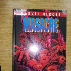 Cómics: MASACRE #4 AGENTE DE ARMA X (MARVEL HEROES COLECCIONABLE #84). Lote 100715635