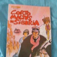 Cómics: TBO COMIC CORTO MALTES EN SIBERIA HUGO PRATT TOTEM BIBLIOTECA. Lote 101029383