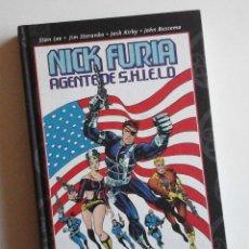 Cómics: NICK FURIA AGENTE DE SHIELD, DE JIM STERANKO. PANINI TOMO TAPA DURA. +10 DE DESCUENTO PVP. Lote 101087343