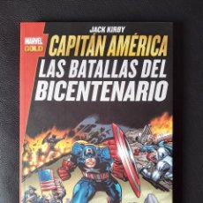 Cómics: CAPITÁN AMÉRICA: LAS BATALLAS DEL BICENTENARIO - JACK KIRBY - MARVEL GOLD - PANINI CÓMICS. Lote 101135107
