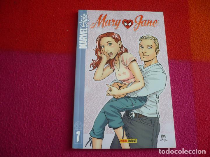 MARY JANE MARVEL STYLE 1 ¡MUY BUEN ESTADO! PANINI SPIDERMAN (Tebeos y Comics - Panini - Marvel Comic)