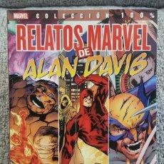 Cómics: 100% MARVEL - RELATOS MARVEL DE ALAN DAVIS - PANINI - SNZBCN. Lote 104911383
