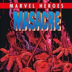 Cómics: MARVEL HÉROES 84 MASACRE TOMO 4 AGENTE DE ARMA X - PANINI - TIERI GAIL SIMONE JEANTY CALIFIORE. Lote 101373107