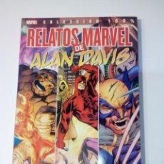 Cómics: RELATOS MARVEL DE ALAN DAVIS - 100% MARVEL - PANINI - EXCELENTE ESTADO. Lote 101408715