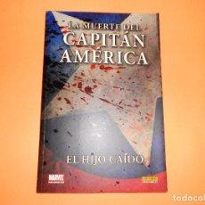 Cómics: LA MUERTE DEL CAPITÁN AMÉRICA. EL HIJO CAÍDO, RUSTICA. IMPECABLE.. Lote 101433915