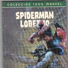Cómics: COLECCION 100% MARVEL. SPIDERMAN LOBEZNO. 1. LA MATERIA DE LAS LEYENDAS. Lote 101662751