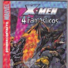 Cómics: X MEN / LOS 4 FANTASTICOS: PRIMER CONTACTO - TOMO PANINI. Lote 102403123