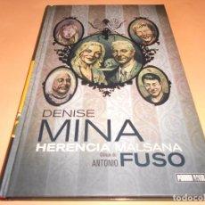Cómics: HERENCIA MALSANA. UNA FAMILIA INQUIETANTE. PANINI NOIR. ESTADO IMPECABLE. TAPA DURA.. Lote 102733639