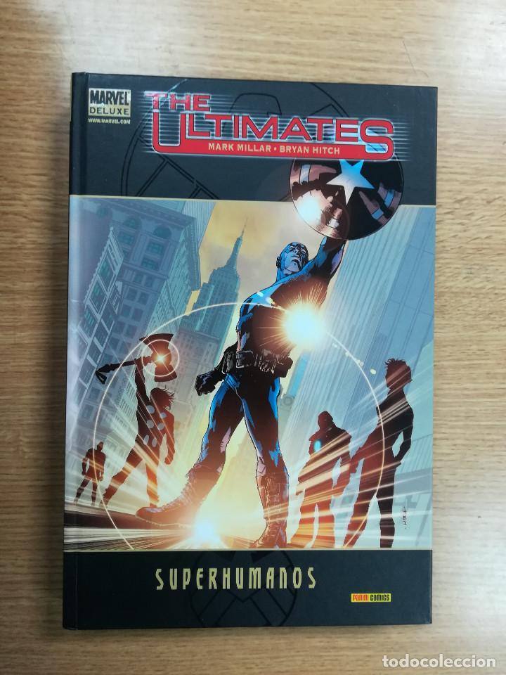 THE ULTIMATES SUPERHUMANOS (MARVEL DELUXE) (Tebeos y Comics - Panini - Marvel Comic)