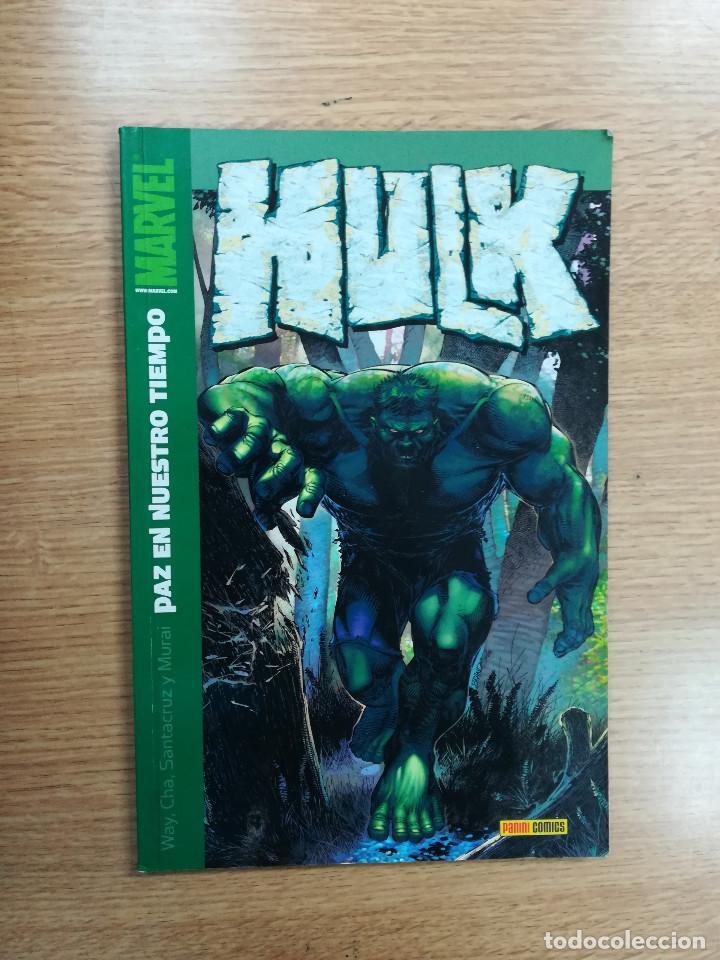 HULK #8 PAZ EN NUESTRO TIEMPO (Tebeos y Comics - Panini - Marvel Comic)