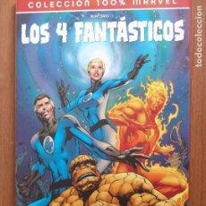 Cómics: TOMO COLECCION 100% MARVEL LOS 4 FANTASTICOS DE PANINI EL FIN. Lote 103854111