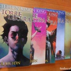 Cómics: LA TORRE OSCURA - TRAICION - COMPLETA - NUMEROS 1 A 6 - STEPHEN KING - PANINI (6O). Lote 104034867