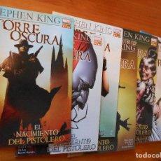 Cómics: LA TORRE OSCURA - EL NACIMIENTO DEL PISTOLERO - COMPLETA - NUMEROS 1 A 7 - STEPHEN KING (6O). Lote 104035523