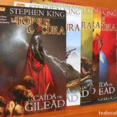 Cómics: LA TORRE OSCURA - LA CAIDA DE GILEAD - COMPLETA - NUMEROS 1 A 6 - STEPHEN KING (6O). Lote 104036311