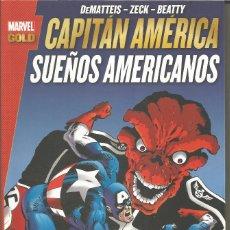 Cómics: MARVEL GOLD. CAPITÁN AMÉRICA: SUEÑOS AMERICANOS PANINI CÓMICS. Lote 104059675