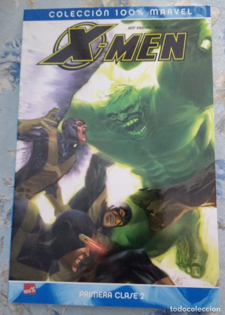 COLECCIÓN 100% MARVEL. X-MEN PRIMERA CLASE, VOL. 2, DE JEFF PARKER Y ROGER CRUZ (Tebeos y Comics - Panini - Marvel Comic)
