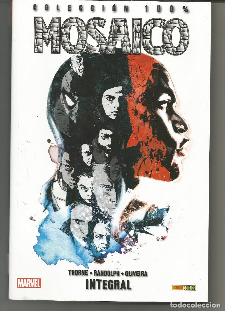 100% MARVEL. MOSAICO: INTEGRAL (Tebeos y Comics - Panini - Marvel Comic)