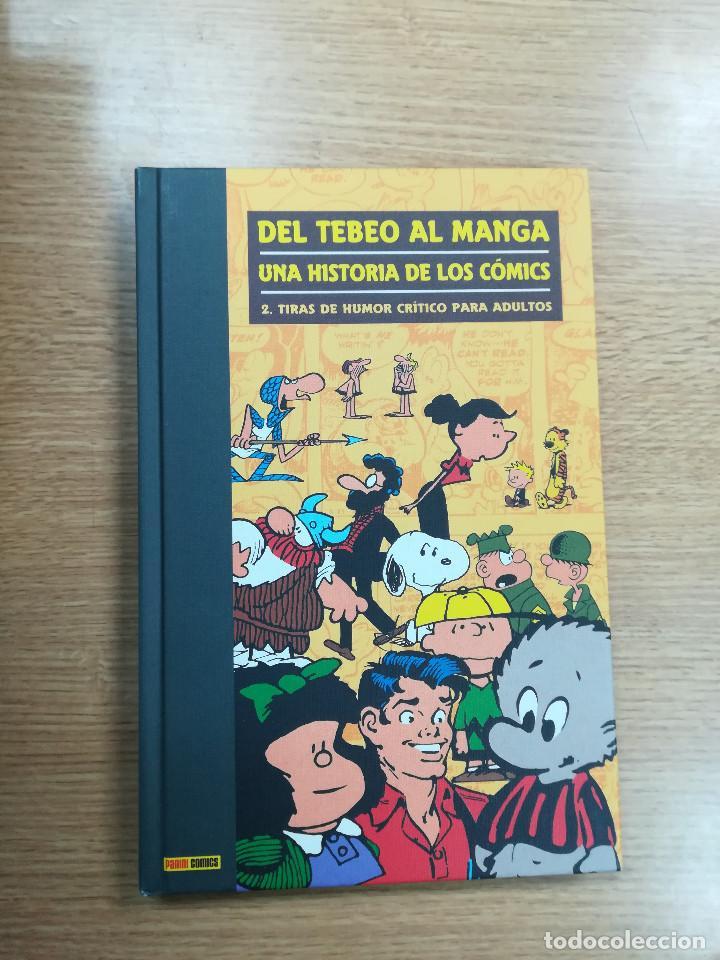 DEL TEBEO AL MANGA UNA HISTORIA DE LOS COMICS #2 TIRAS DE HUMOR CRITICO PARA ADULTOS (Tebeos y Comics - Panini - Otros)