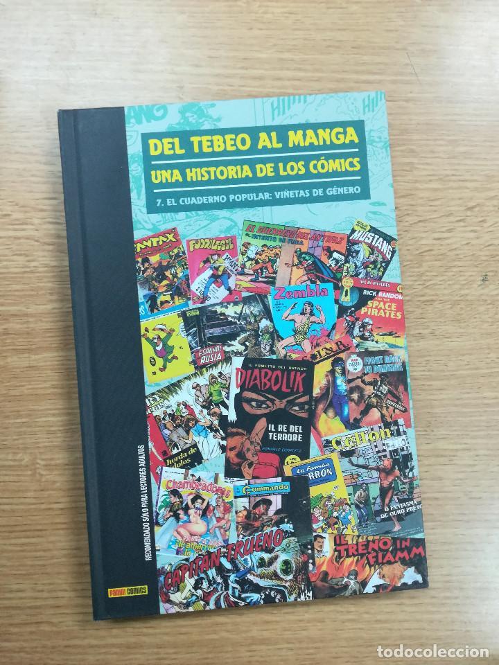 DEL TEBEO AL MANGA UNA HISTORIA DE LOS COMICS #7 EL CUADERNO POPULAR VIÑETAS DE GENERO (Tebeos y Comics - Panini - Otros)
