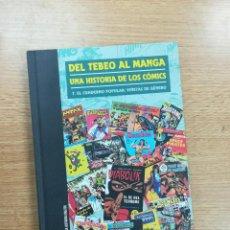 Cómics: DEL TEBEO AL MANGA UNA HISTORIA DE LOS COMICS #7 EL CUADERNO POPULAR VIÑETAS DE GENERO. Lote 104654187