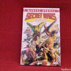 Cómics: SECRET WARS - LA LLEGADA DEL TODOPODEROSO-. Lote 176898279