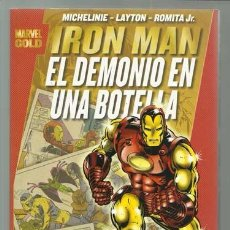 Cómics: IRON MAN: EL DEMONIO EN UNA BOTELLA, 2010, PANINI, IMPECABLE. Lote 245780795