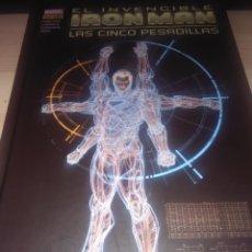 Cómics: COMIC - IRON MAN: LAS CINCO PESADILLAS - MARVEL DELUXE. Lote 105269415