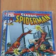 Cómics: LOTE 6 COMICS. CLASSIC. SPIDERMAN. Nº 7, 6, 2, 3, 5, 8, . EN SU FUNDA. W. Lote 105420099