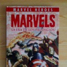 Cómics: MARVELS: LA ERA DE LOS PRODIGIOS (COLECCIONABLE MARVEL HÉROES PANINI) KURT BUSIEK, ALEX ROSS. Lote 105652075