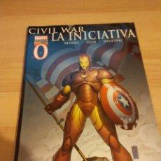 Cómics: COMIC CIVIL WAR: LA INICIATIVA Nº 00. Lote 105967787