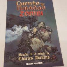Cómics: CUENTO DE NAVIDAD ZOMBI - BASADO OBRA CHARLES DICKENS ¡ ONE SHOT 112 PAGINAS ! MARVEL PANINI. Lote 245782350