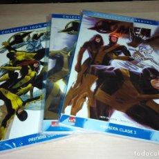 Cómics: COMICS X-MEN: PRIMERA CLASE (COL. 100% MARVEL) - 3 PRIMEROS NÚMEROS. Lote 106105071