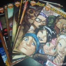 Cómics: COMICS RUNAWAYS - VOLUMEN 2 COMPLETO 16 NÚMEROS. Lote 106603359