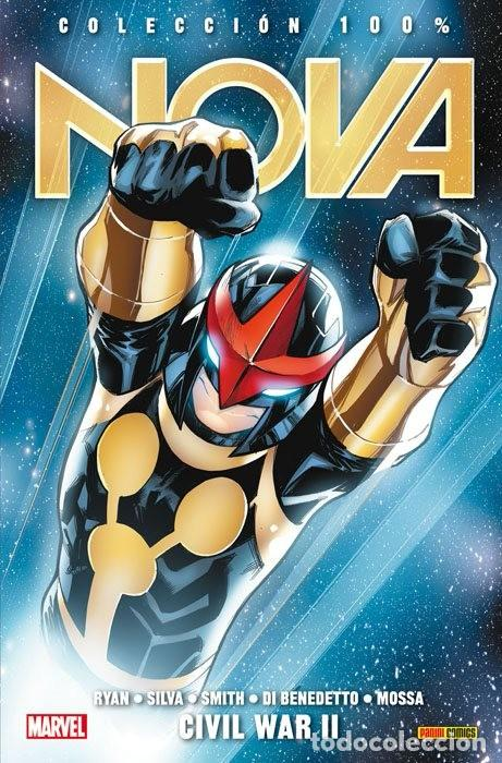 100% MARVEL NOVA TOMO 7 CIVIL WAR 2 II - RYAN SILVA SMITH PANINI (Tebeos y Comics - Panini - Marvel Comic)