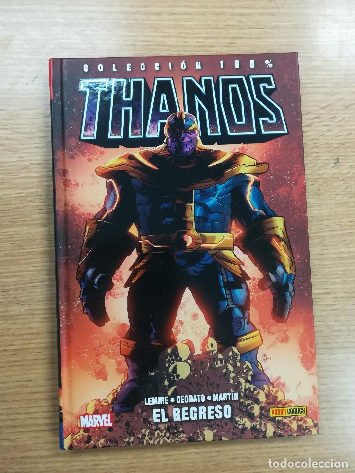 THANOS #1 EL REGRESO (100% MARVEL HC) (Tebeos y Comics - Panini - Marvel Comic)