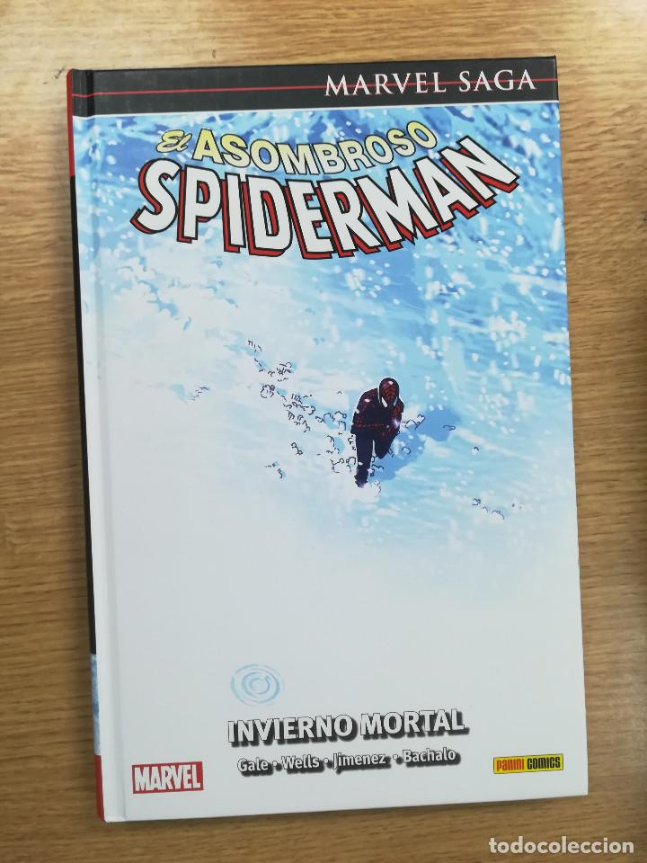 ASOMBROSO SPIDERMAN #15 INVIERNO MORTAL (MARVEL SAGA #35) (Tebeos y Comics - Panini - Marvel Comic)