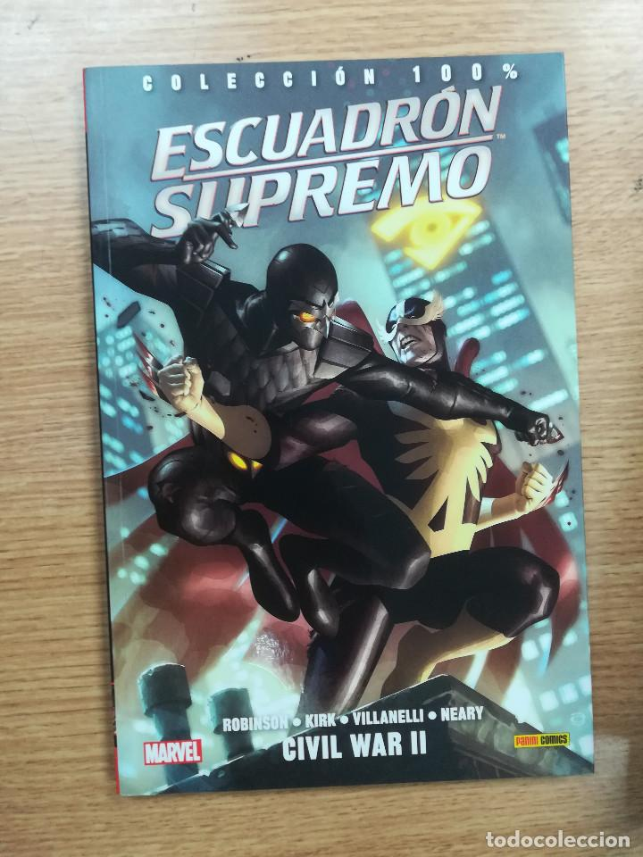 ESCUADRON SUPREMO #2 CIVIL WAR II (100% MARVEL) (Tebeos y Comics - Panini - Marvel Comic)