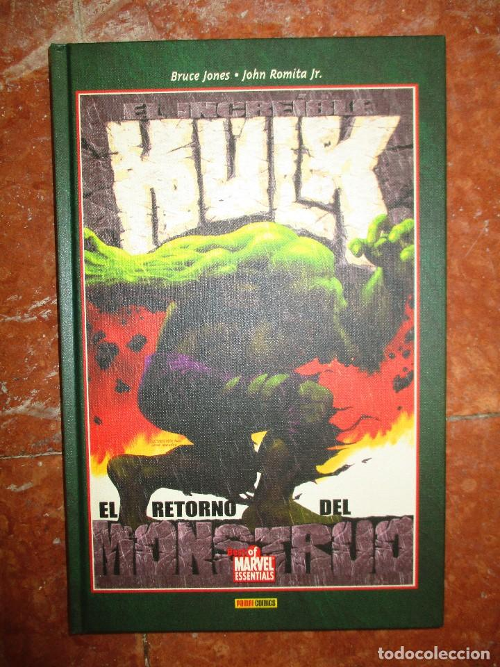 BEST OF MARVEL ESSENTIALS EL INCREIBLE HULK EL RETORNO DEL MONSTRUO PANINI NUEVO (Tebeos y Comics - Panini - Marvel Comic)