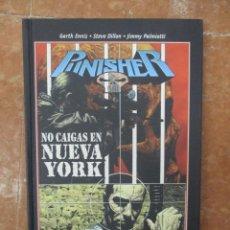 Cómics: BEST OF MARVEL ESSENTIALSTHE PUNISHER NO CAIGAS EN NUEVA YORK PANINI NUEVO. Lote 107253455