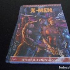 Cómics: COMIC X-MEN: 100% MARVEL. RETORNO A LA ERA DE APOCALIPSIS. Lote 107257715