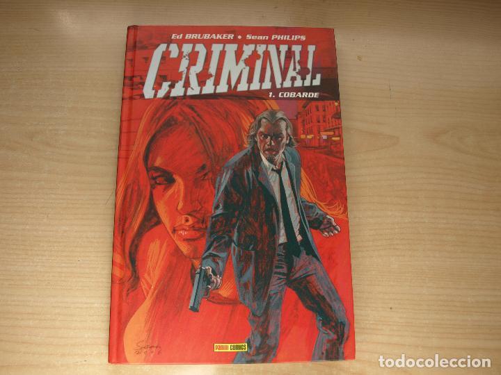 CRIMINAL - 1. COBARDE - TAPA DURA - AÑO 2007 - PANINI (Tebeos y Comics - Panini - Otros)