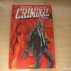 Cómics: CRIMINAL - 1. COBARDE - TAPA DURA - AÑO 2007 - PANINI. Lote 107352651