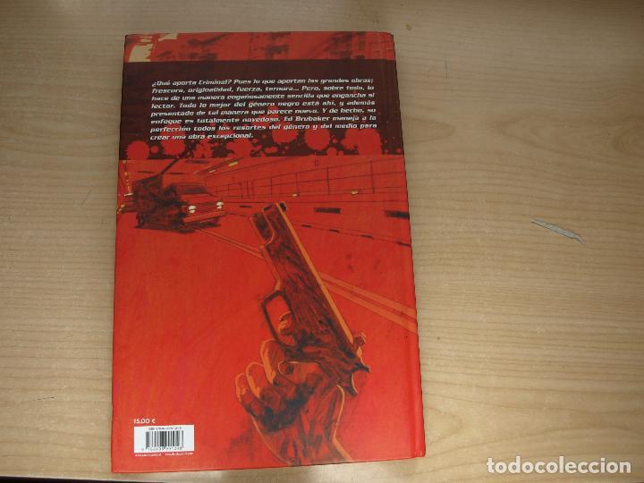 Cómics: CRIMINAL - 1. COBARDE - TAPA DURA - AÑO 2007 - PANINI - Foto 3 - 107352651