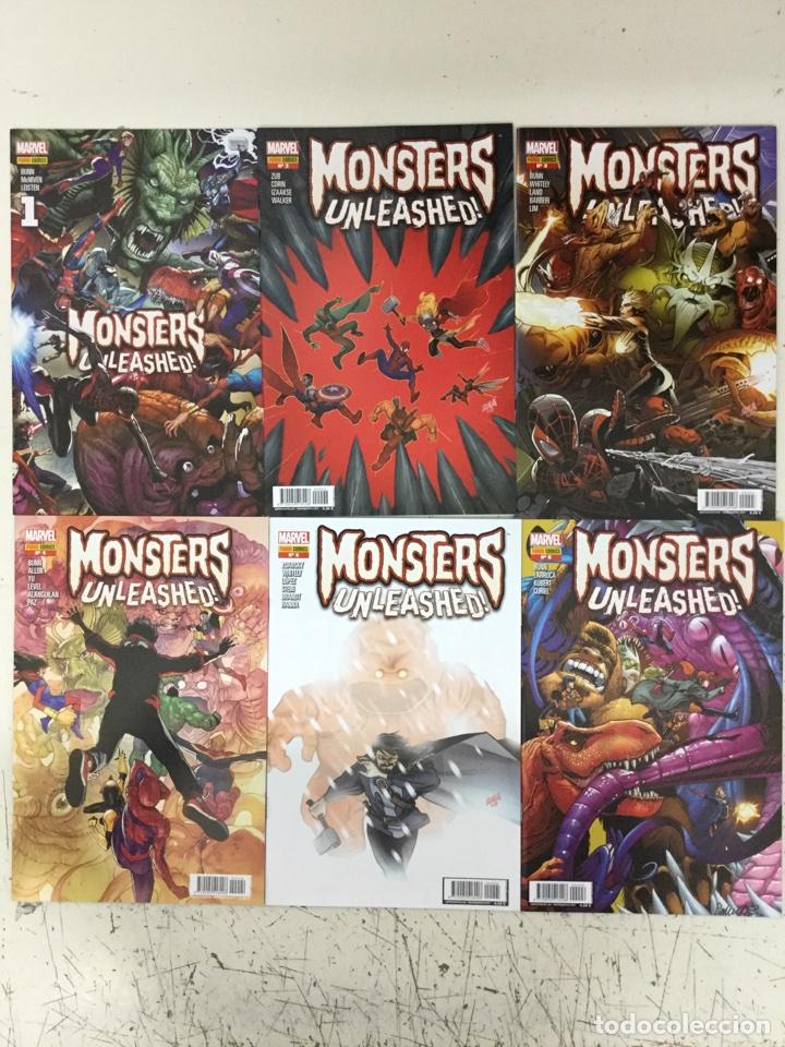 MONSTERS UNLEASHED! 1 2 3 4 5 6 (COLECCIÓN COMPLETA) - PANINI (Tebeos y Comics - Panini - Marvel Comic)