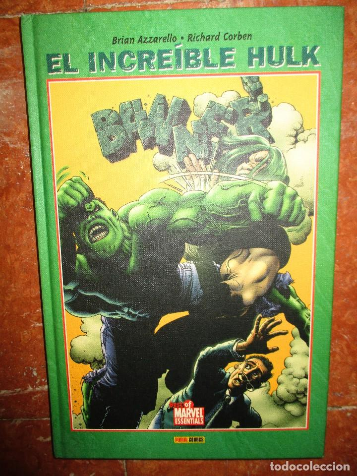 BEST OF MARVEL ESSENTIALS EL INCREIBLE HULK BANNER PANINI NUEVO DE LIBRERIA (Tebeos y Comics - Panini - Marvel Comic)