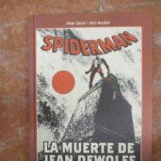 Cómics: BEST OF MARVEL ESSENTIALS SPIDERMAN LA MUERTE DE JEAN DEWOLFF NUEVO DE LIBRERIA. Lote 110647663